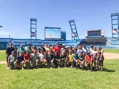 Youth Baseball Tour Visit Latinoamericano